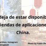 Didi deja de estar disponible en las tiendas de aplicaciones en China