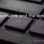 Ransomware and the service.