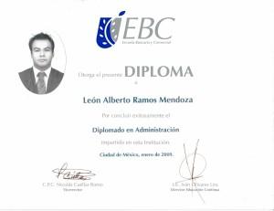 2009 Diplomado en Administración