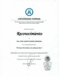 """2015 Semana de la Hispanidad """"Peritaje informático"""""""