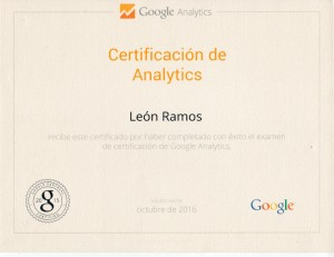 2016 Google Analytics