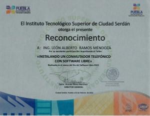"""2013 Ciudad Serdán """"Instalando un conmutador telefónico con software libre"""""""