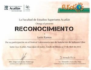 2015 FES Acatlán FLISOL