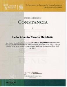 "2011 IEMS Azcapotzalco ""Venta de pingüinos"""