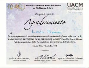 2011 UACM FLISOL