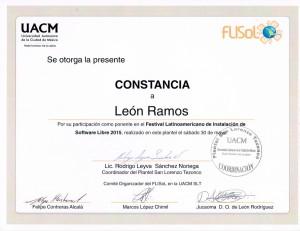 2015 UACM FLISOL