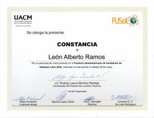 2016 UACM FLISOL