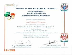 """2013 UNAM FI """"Llevando una oficina con software libre"""""""