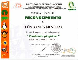 """2011 UPIICSA """"Vendiendo pingüinos"""""""