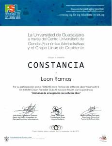 "2015 FSL ""Llamadas de emergencia con software libre"""