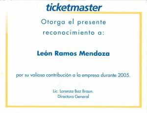 2005 Ticketmaster México